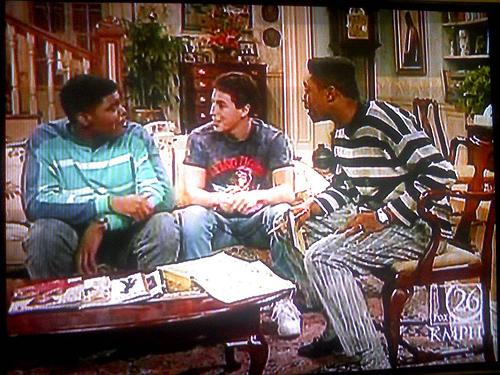 """Adam Sandler em """"The Cosby Show"""""""