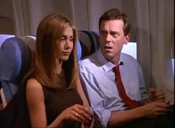 "Hugh Laurie (Dr. House) em ""Friends"""
