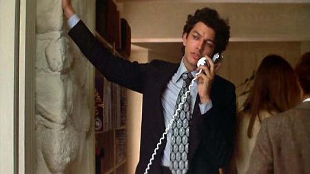 "Jeff Goldblum em ""Annie Hall"""