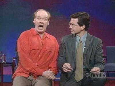 "Stephen Colbert em ""Whose Line Is It Anyway?"""