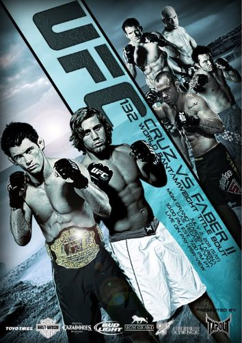 ufc 132: card completo