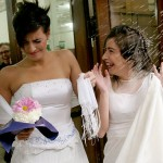 Fotos de mulheres vestidas de noiva