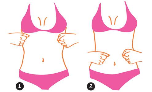 como diminuir a barriga