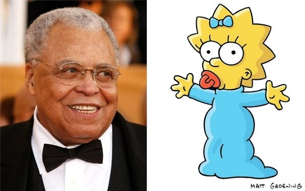 James Earl Jones como Maggie Simpson