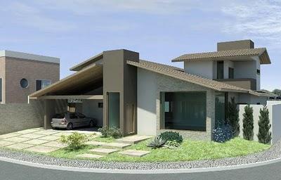 projeto de casa em 3d