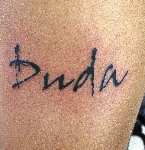 tatuagem-de-nome-duda