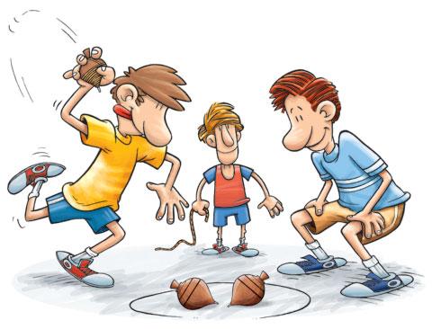 Brincadeiras Antigas para crianças