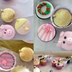 cupcakes colagem