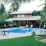 ducha e piscina casa e jardim