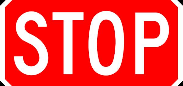 Parar de fumar - Stop - 600x282