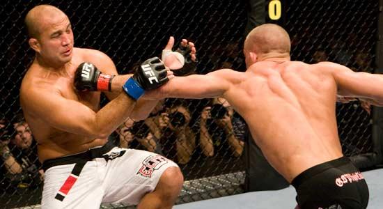Como ser um lutador de MMA - GSP vs BJ Penn - 550 × 300