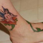 tatuagem-fada-perna