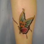 tatuagem-na-perna-borboleta