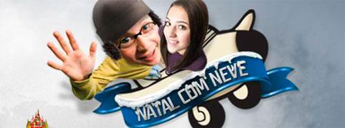 PROMOÇÃO NATAL NA NEVE - WWW.BUSCAPE.COM.BR