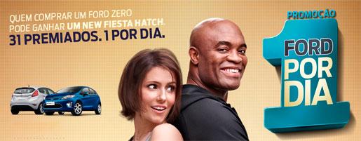 PROMOÇÃO 1 FORD POR DIA - WWW.FORD.COM.BR/PROMOCAO