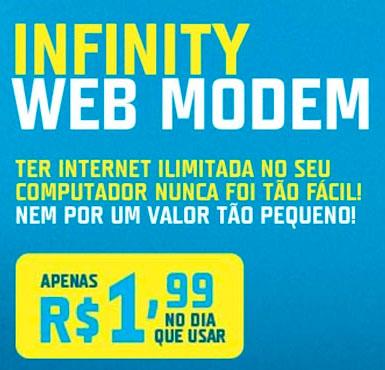 INFINITY WEB MODEM - WWW.TIM.COM.BR