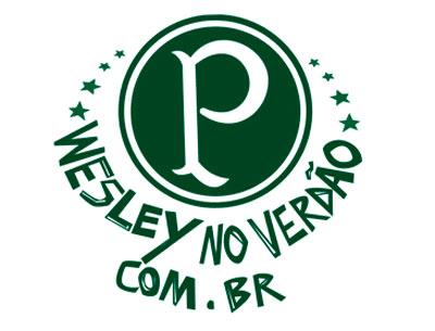 WWW.WESLEYNOVERDAO.COM.BR - JOGADOR WESLEY NO PALMEIRAS COM APOIO DA TORCIDA