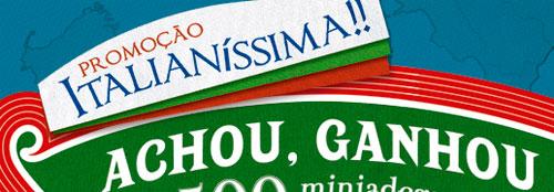 WWW.PROMOCAOITALIANISSIMA.COM.BR - PROMOÇÃO ITALIANÍSSIMA, DR.OETKER, PIZZA RISTORANTE