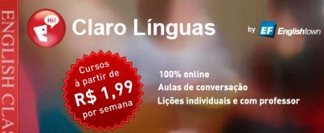 CLARO LÍNGUAS - WWW.CLAROIDEIAS.COM.BR/LINGUAS