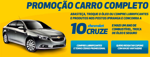 PROMOÇÃO CARRO COMPLETO - WWW.KMDEVANTAGENS.COM.BR