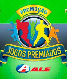WWW.JOGOSPREMIADOSALE.COM.BR - PROMOÇÃO JOGOS PREMIADOS POSTOS ALE