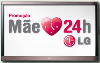 WWW.MAE24HLG.COM.BR - PROMOÇÃO MÃE 24 HORAS LG