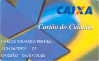 COMO TER UM CARTÃO CIDADÃO CAIXA
