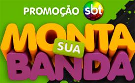 WWW.SBTMONTASUABANDA.COM.BR, PROMOÇÃO SBT MONTA SUA BANDA