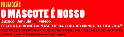 PROMOÇÃO COCA-COLA O MASCOTE É NOSSO