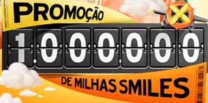 WWW.1MILHAODEMILHAS.COM.BR - PROMOÇÃO GOL 1000000 DE MILHAS SMILES