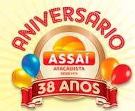 WWW.ANIVERSARIOASSAI.COM.BR - PROMOÇÃO ANIVERSÁRIO ASSAÍ ATACADISTA