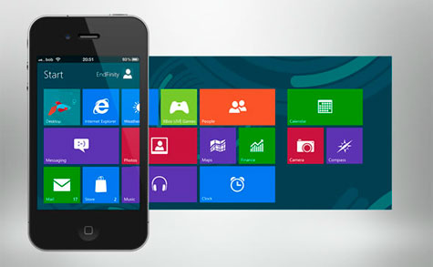 WINDOWS PARA IPHONE