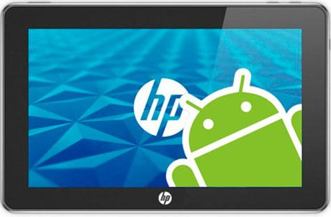 HP PRETENDE INCORPORAR SISTEMA ANDROID
