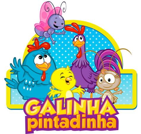 VÍDEOS E DESENHOS DA GALINHA PINTADINHA